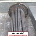 المنت سوپر هیتر جهت مخزن آب گاز روغن ویا بخار