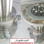 تولید کننده المنت فلنج دار صنعتی